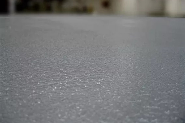 100% solids Orange Peel Epoxy Coating