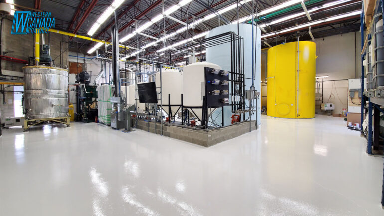 Epoxy Flooring For Industrial